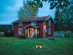 """""""In Sweden, as soon as it turned cold, everyone had lanterns on their porches and out in front of their shops, and the interiors were filled with candles too. I suggest we adopt this everyday tradition in the Pacific Northwest to help us endure this rainy, dark winter. It makes a world of difference."""" photography by Per Magnus Persson"""