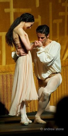 Diana Vishneva and Marcelo Gomes, Romeo and Juliet curtain call.