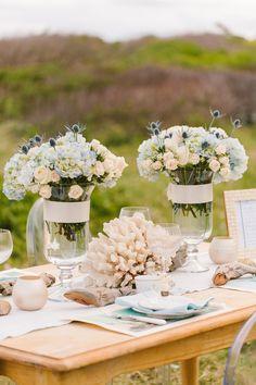 Nautical Wedding Inspiration from Rebecca Arthurs Photography