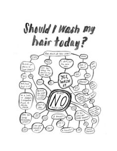 And finally learn the answer to this timeless question. | 29 Cheat Sheets That Will Make Every Day A Good Hair Day