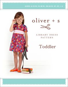 Toddler Library Dress