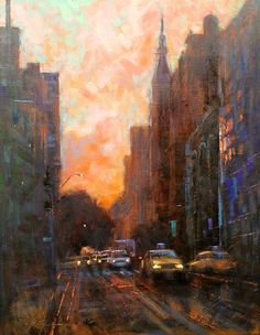 Streets of Manhattan-SOLD, Chin h Shin