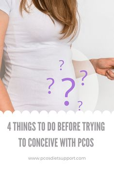 Trying to conceive with PCOS is not easy. It can take much longer than we would like. There are some things that you can do to help get your body ready to conceive with PCOS. Trouble Getting Pregnant, Get Pregnant Fast, Pregnant Funny, Pcos Fertility, Fertility Smoothie, Pcos Pregnancy, Pregnancy Care, Best Prenatal Vitamins, Infertility Treatment