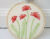 Wonderful Ribbon Embroidery Flowers by Hand Ideas. Enchanting Ribbon Embroidery Flowers by Hand Ideas. Hand Embroidery Tutorial, Simple Embroidery, Modern Embroidery, Embroidery Hoop Art, Embroidery Applique, Cross Stitch Embroidery, Embroidery Patterns, Flower Embroidery, Cushion Embroidery