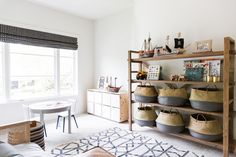 Shelving and Baskets