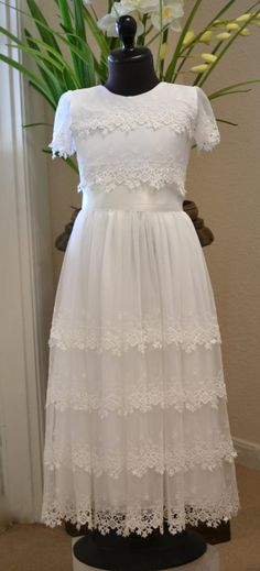 First Communion Dresses Communion Dress Holy by CouturesbyLaura, $369.00