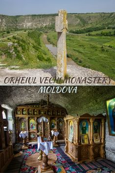 How to plan a day trip on public transport to Orheiul Vechi, one of Moldova's most picturesque sights, including what to see at the historic cave monastery. The Beautiful Country, Europe Travel Guide, Moldova, Bosnia And Herzegovina, Macedonia, Albania, Eastern Europe, Montenegro, Slovenia