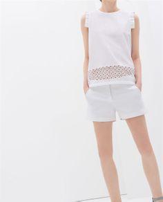SHORTS + TOP from Zara