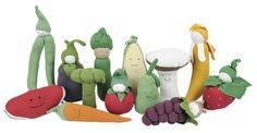 Organic Fruit and Veggie Toy