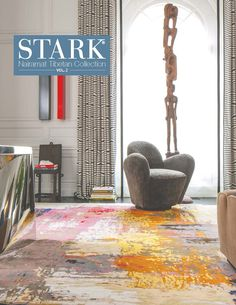 From the Nairamat Collection, the Synthesis Jubilee Rug. This one of a kind rug is handwoven from 100% Tibetan Wool in Nepal, and is exclusive to STARK. Design # NAIR 107216A #StarkCarpet #StarkTouch