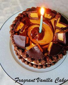 dream cup dessert | Fragrant Vanilla Cake: Raw Peanut Butter Cup Dream Cake