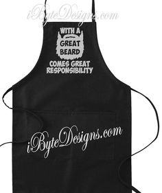 Custom  With A Great Beard Comes Great by iByteDesigns on Etsy