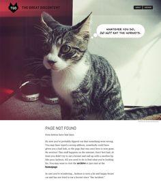 404 page of The Great Discontent  -------------  Wil je minder 404's? of gewoon een betere website? Neem dan eens vrijblijvend contact op met Budeco http://budeco.nl/contact