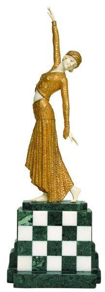 Die 120 besten Bilder von Art Deco Demetre Chiparus in
