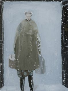 Moving into snow by Kristin Vestgard