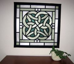 Celtic Wall Art celtic stained glass front door and side lights. wonderful