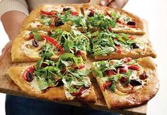 White pizza recipes, White pizza and Pizza recipes on Pinterest