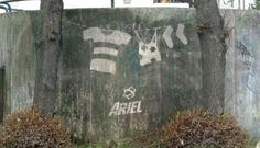 Reverse Grafitti----clean tagging....scrubbing dirt off and creating art!
