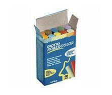 Caja tizas Giotto Robercolor colores surtidos