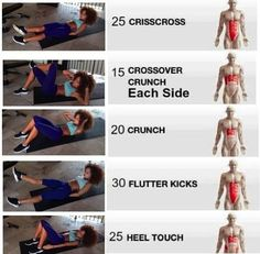 Ab workout per muscles