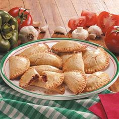 Pizza Turnovers Recipe -