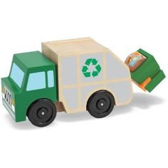 Garbage Truck- Melissa and Doug toys