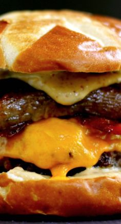Sweet and Smoky Bacon Brat Burger