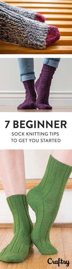 If you're new to sock knitting, take these tips into consideration before you start knitting your toasty-toe masterpiece.