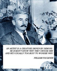 Quote of the Day: William Faulkner