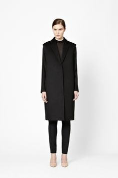 COS, cashmere wool coat