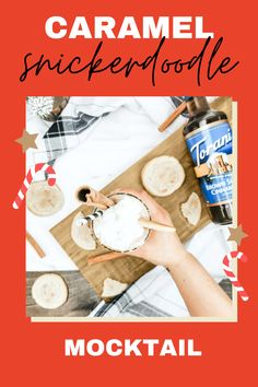 Incredibly easy mocktail for the holidays. Served in a tall cinnamon turbinado sugar and stevia blend rimmed glass. Has low sugar, protein-packed (30 grams of protein), cinnamon, and topped with light whipped cream, and topped with a wedge of a snickerdoodle cookie. Get the step-by-step recipe here. So good and great for the whole family. 30 Grams Of Protein, Protein Pack, Snicker Doodle Cookies, Low Sugar, Stevia, Whipped Cream, Super Easy, Cinnamon, Caramel