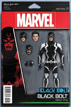 Black Bolt #1 (Cover F John Tyler Christopher Action Figure Variant)