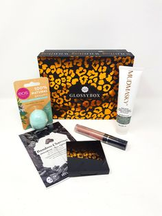 Glossybox Beauty Box May 2020 – Unboxing and Product Reviews | Bonds of Beauty Kiss Proof, Beauty Box Subscriptions, Eyeshadow Palette, Lip Balm, Boxes, Crates, Box, Eos Lip Balm, Cases