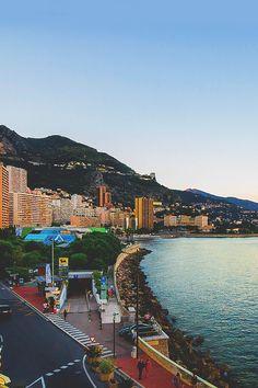 Monaco Sunset ©