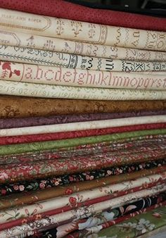 I WANT ALL OF IT!!!!  Blackbird Designs Rhubarb and Ginger Moda Fabric
