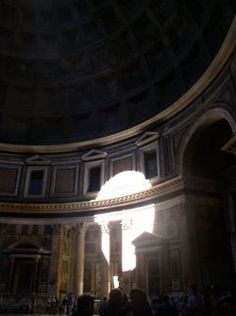Pantheon, Rome, the most magical place!