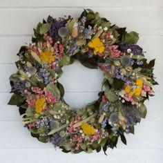 Terrain Lavender Flowers Wreath  #shopterrain