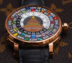 Louis Vuitton Escale Minute Repeater Worldtime Hands-On