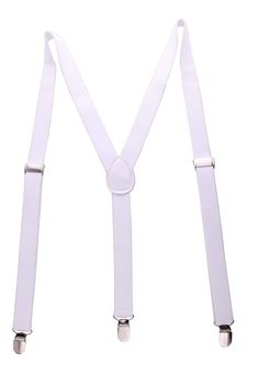JINIU Boxed Solid Color Adjustable Elastic Strong Clips suspenders 1 Inch Wide Sale:$9.99 & FREE Shipping on orders over $49. FREE Returns. Details You Save:$13.00 (57%) Color: White