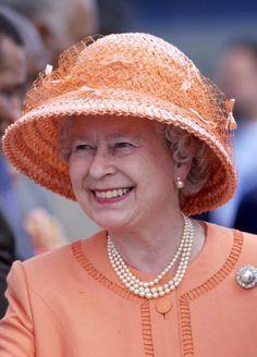 Queen Elizabeth hat pins - Google Search