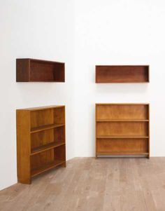 Le Corbusier, Pierre Jeanneret And Charlotte Perriand   Four Bookcases,  From The Pavillon Suisse