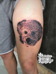 Realistic Dog Portrait
