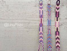 Color patterns for friendship bracelets