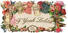 F Yeah Lolita: Lolita Tutorials (hat creating ideas!)