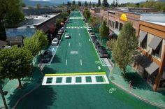 #SolarRoadways macht #Strassen zum sicheren, umweltfreundlichen #Kraftwerk #Crowdfunding #Zukunft #LED