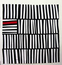 Another variation on black & white quilt | student of Cinzia Allocca