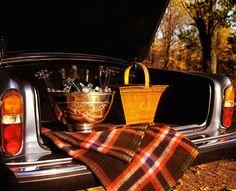 champagne picnic.