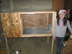 How to build a rabbit hutch - plans for outdoor AND indoor hutches - plus what rabbits need to be happy...