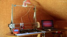 DIY 3D Printer - Working Area 40x40x40cm