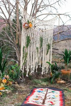 Get Obsessed With These 7 Ways to Use Macrame in Your Wedding Decor